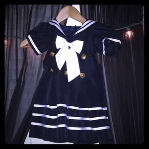 Other - Baby girl sailer dress